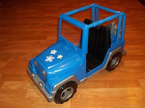 "Battat""Retired"" Jeep Fits all 18 inch dolls"