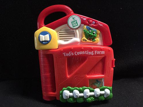LeapFrog: Tad's Counting Farm Smart Block Book