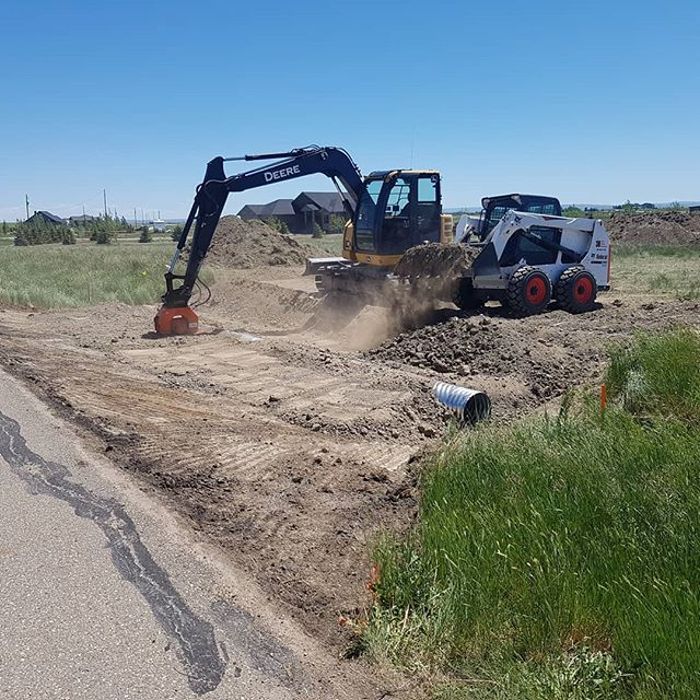Excavation | 3B Skid Steer Services | Medicine Hat