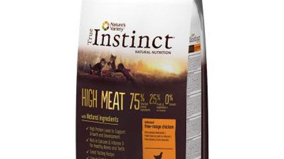 Nature's Variety True Instinct High Meat Kitten poulet 7kg