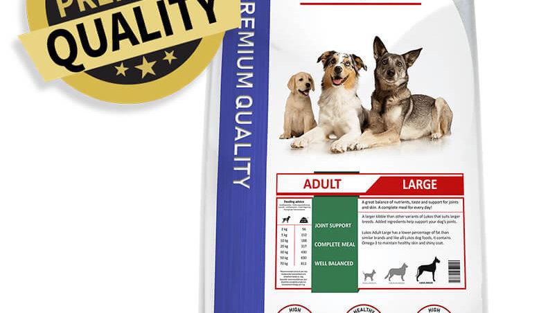Lukos Adult Large pour chien 12kg