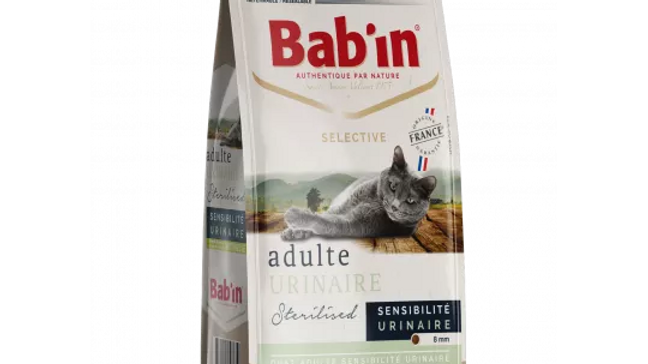 BAB'IN CHAT ADULTE URINAIRE 2kg