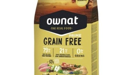 OWNAT PRIME Grain Free Junior au poulet & dinde pour chiot 14kg