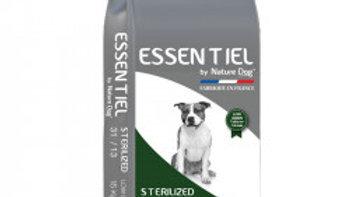 Croquettes Essentiel Sterilized 31/13 Low Grain Nature Dog 15 kg