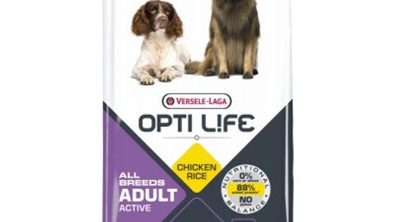 OPTI LIFE Adult Active au poulet 12.5kg