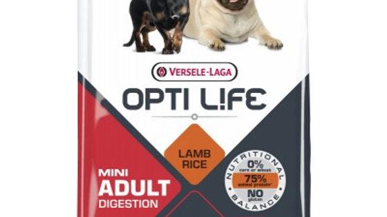 OPTI LIFE Mini Adult Digestion agneau et riz 7.5kg