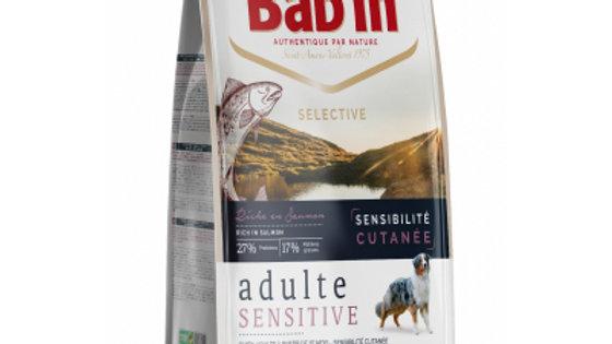 BAB'IN Selective adulte Sensitive au Saumon pour chien sensible 12kg