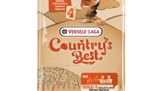 Gold 4 Gallico Pellet Country's Best 20kg