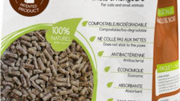 Litière granulés de bois au Cacao LIKAO 3kg 4L