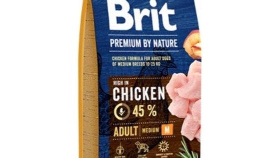 BRIT Premium By Nature Adult M - 15kg + 3 kg offerts
