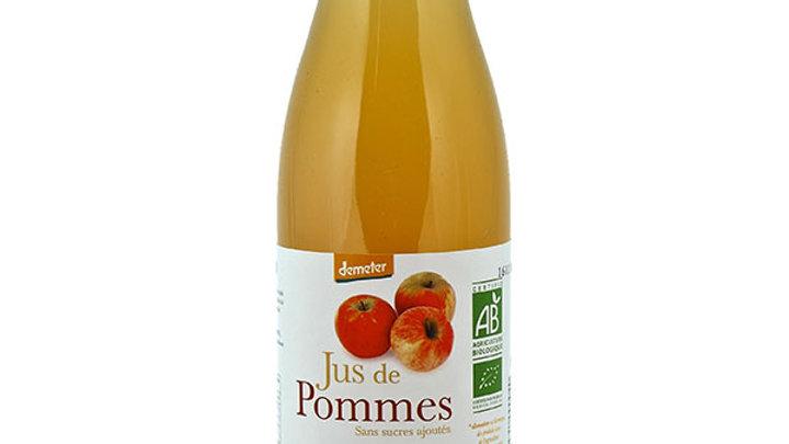 Jus de pommes Bio Demeter 75cl