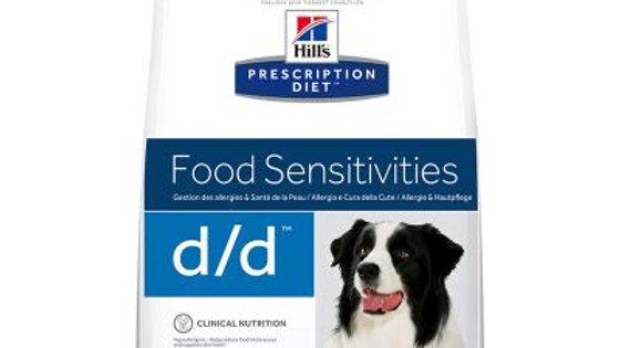Hill's Prescription Diet d/d Food Sensitivities saumon, riz 12kg