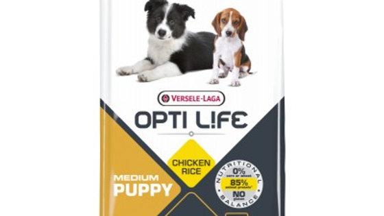 OPTI LIFE Puppy Medium 12.5kg