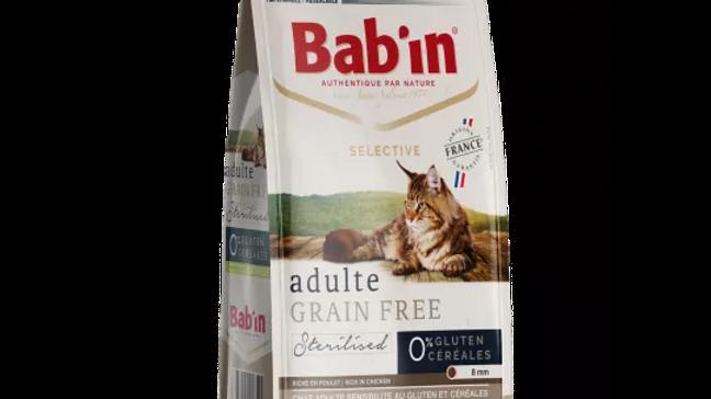 Bab'in CHAT ADULTE GRAIN FREE riche en poulet