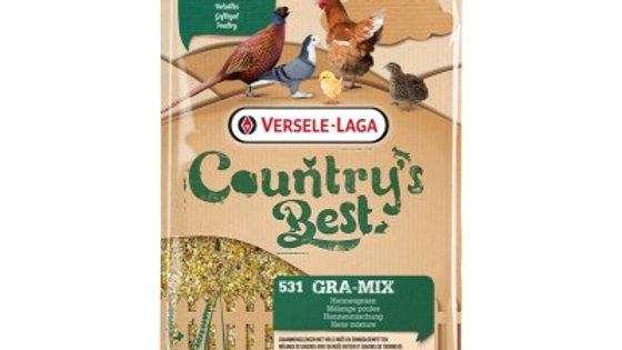 Gra-Mix Mélange poules Country's Best avec Maïs et tournesol 20kg