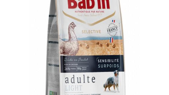 BAB'IN Selective adulte Light Sensitive au poulet - 12kg