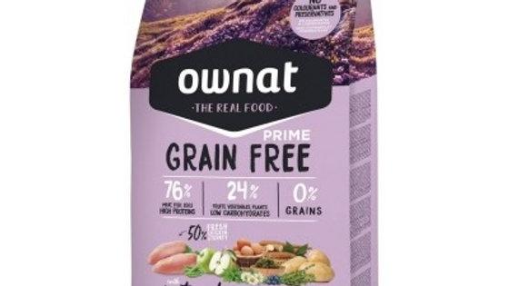 OWNAT PRIME Grain Free Sterilized poulet & dinde - 8kg