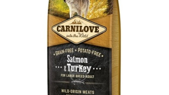 Carnilove Salmon and Turkey pour grandes races adultes 12kg