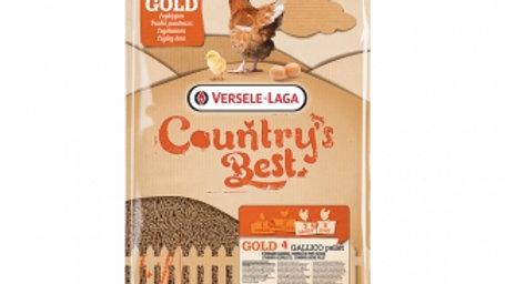 Gold 4 Gallico Pellet Country's Best Granulé de ponte 20kg