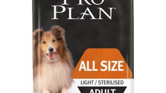 PURINA PRO PLAN All sizes Adult Light/Sterilised poulet 14kg