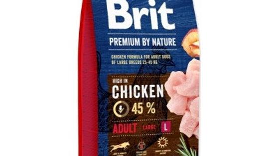 BRIT Premium By Nature Adult L - 15kg