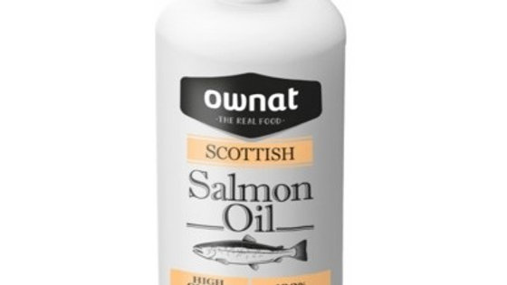 OWNAT Huile de saumon pour chien et chat - 250 ml
