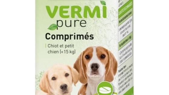 VERMIpure PURGE AUX PLANTES 50 Comprimés petit chien et chiot