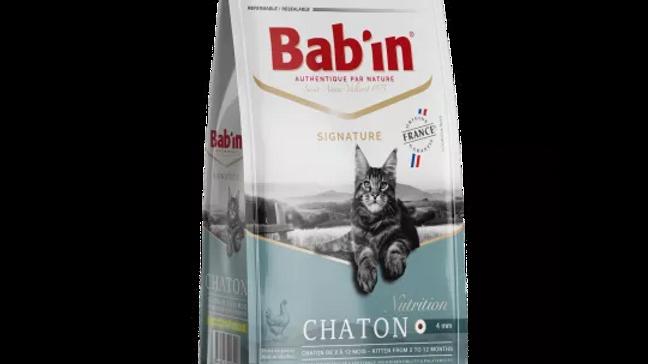 BAB'IN CHATON riche en poulet 2kg