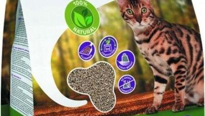 Litière bois pour chat agglomérante et biodégradable Wood Crumble 10L