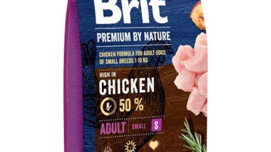 BRIT Premium By Nature Adult S - 3kg