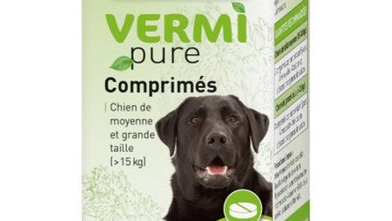 50 comprimés purge aux plantes pour chien de moyenne et grande taille