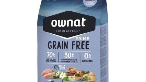 OWNAT PRIME Grain Free Senior poulet & dinde - 14kg