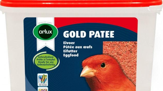 Orlux Gold pâtée rouge entretien du plumage rouge des canaris 5kg