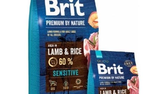 BRIT Premium By Nature Sensitive Lamb & Rice - 15kg