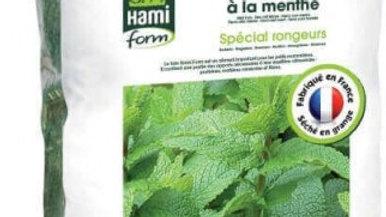 Foin pour rongeurs premium Hamiform à la menthe 20L
