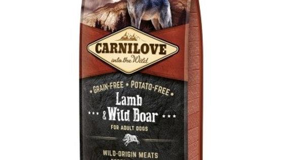 Carnilove agneau et sanglier 12kg