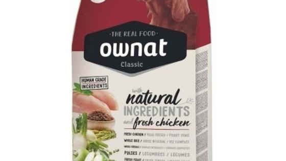 OWNAT Classic Complet pour chien adulte au poulet 20kg