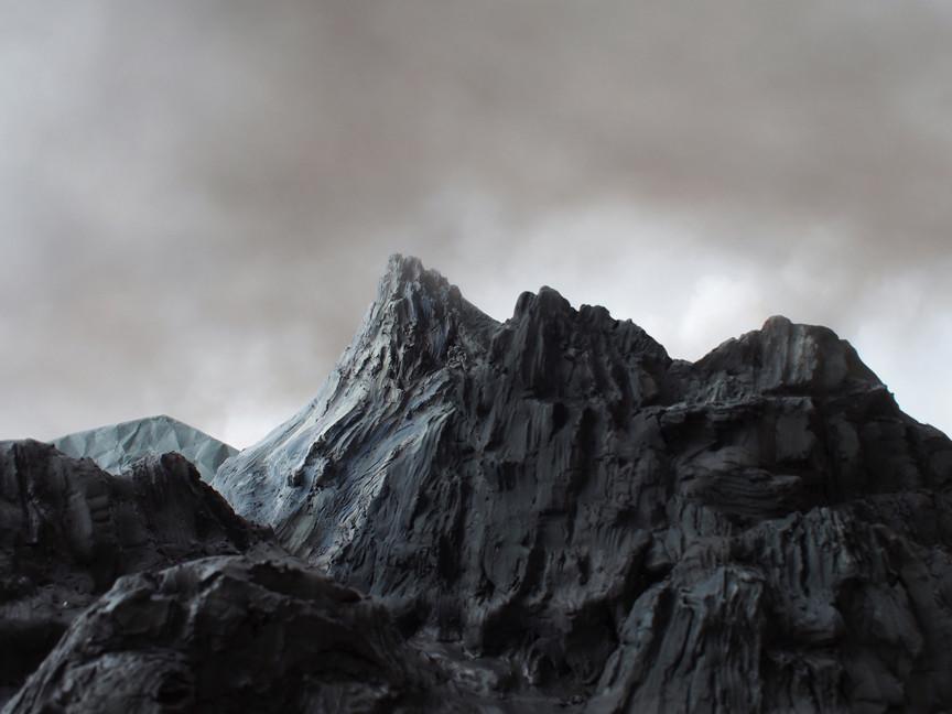 Mist Lingers Over Mount Victory, 2016