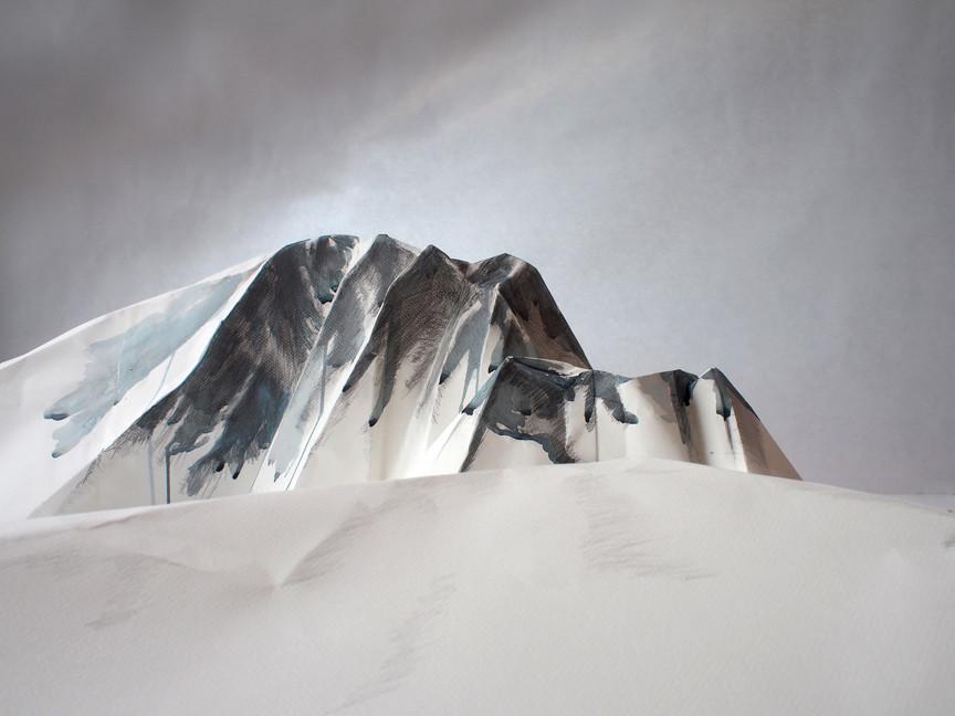 Rising 4892m Above Antarctica, 2016
