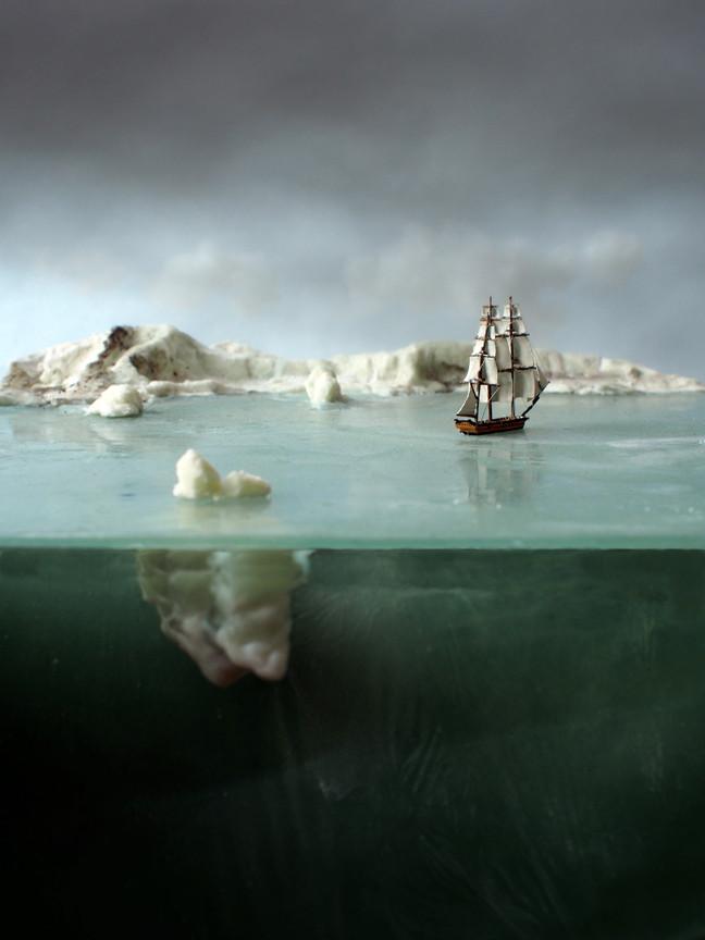 Iceberg and the Endurance, 2015