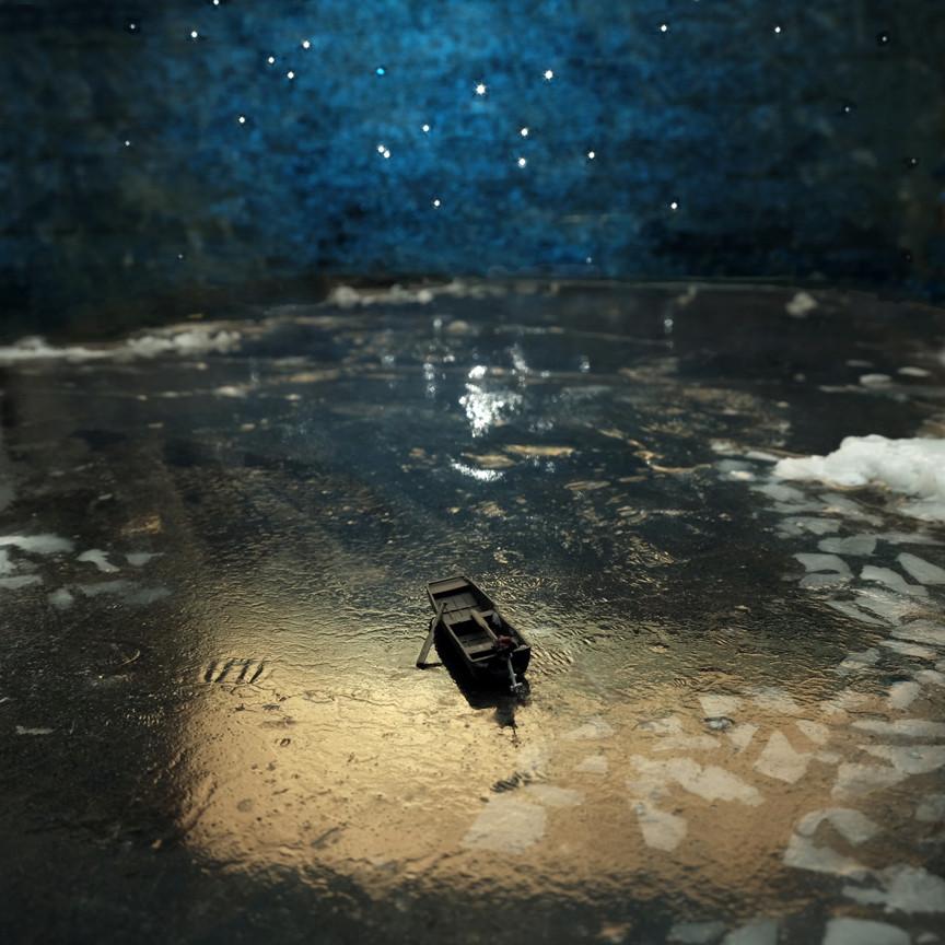 Moonlit Boat, 2018