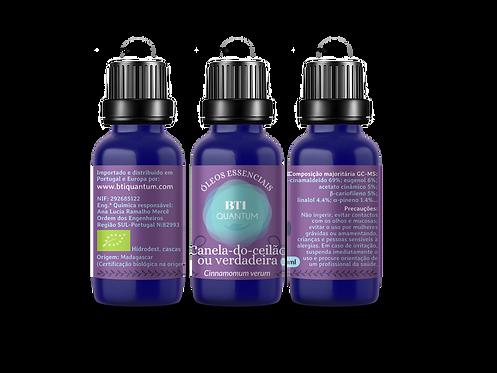 Óleo essencial de Canela-do-ceilão (Cinnamomum verum)