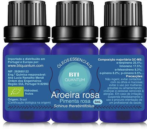 Óleo essencial de Aroeira rosa (pimenta rosa) (Schinus terebinthifolius)