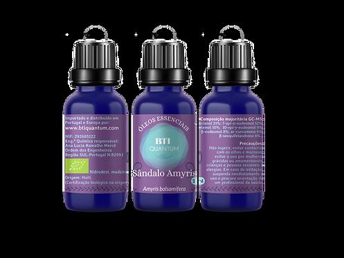 Óleo essencial de Sândalo Amyris (Amyris balsamifera)