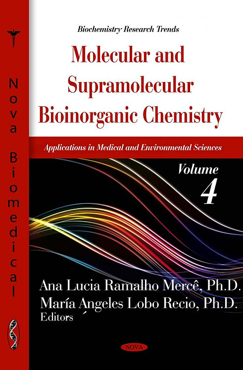 Molecular & Supramolecular Bioinorganic Chemistry: Applications in M
