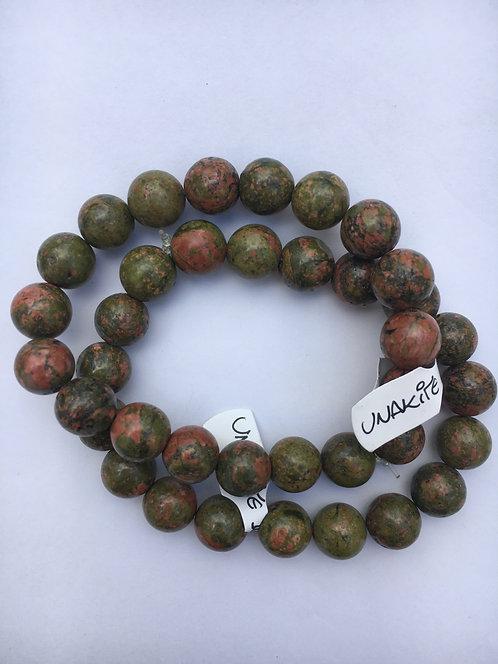 Bracelete de Unakita 10mm