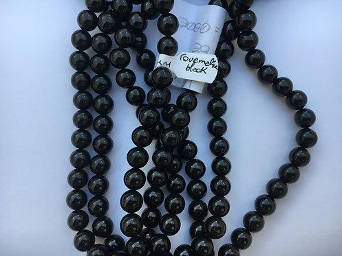 Bracelete de Turmalina negra 8mm