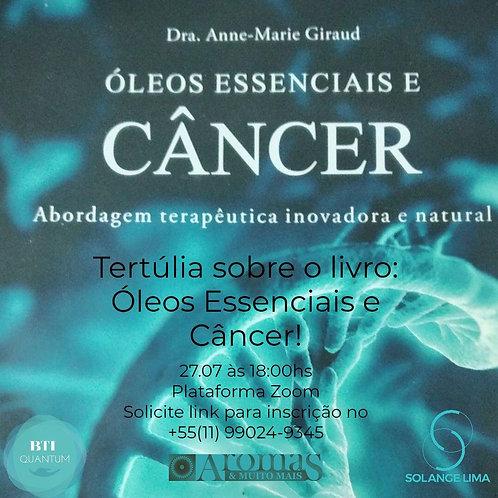 Tertúlias Editora Laszlo em Portugal - Óleos essenciais e câncer