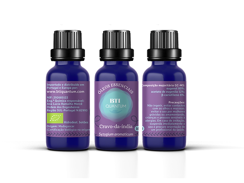 Óleo essencial de Cravo-da-índia SELVAGEM (Syzygium aromaticum)