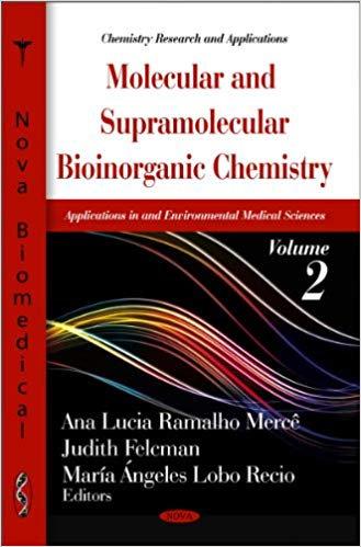 Molecular & Supramolecular Bioinorganic Chemistry: Applications in M